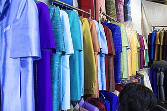 Chatuchak Weekend Market - Image: Thai Silk