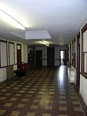 The Allston Mall - The second floor hallway at 107 Brighton Avenue, Allston, Massachusetts, location of The Allston Mall