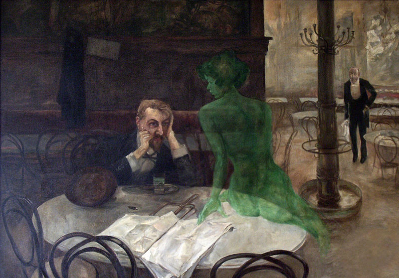 File:The Absinthe Drinker by Viktor Oliva.jpg