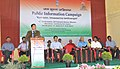 The Additional Deputy Commissioner of Kolasib District, Shri R. Lalremsanga addressing the gathering, during the Public Information Campaign, in Saipum Village of Mizoram on November 13, 2015.jpg