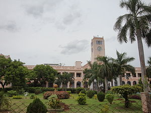 Annamalai University - Image: The Administrative Building, Annamalai University 01