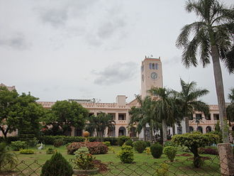 Chidambaram - Annamalai University, established in 1929, is one of the oldest universities in the state