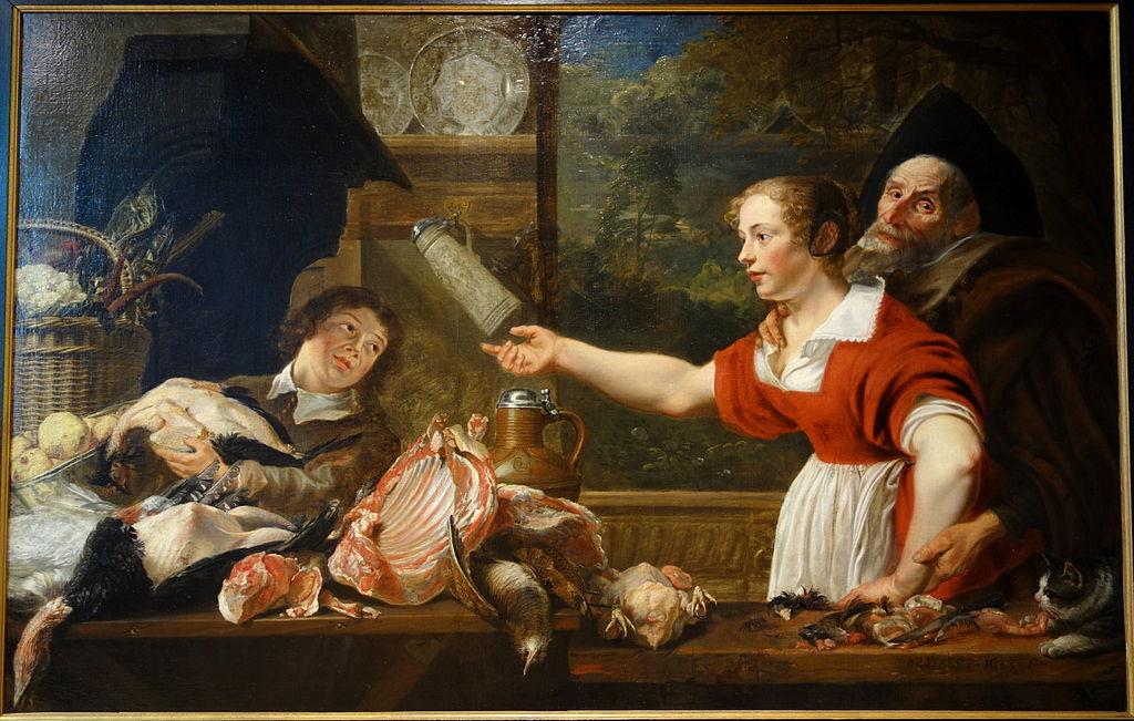 The Cook, attributed to Artus Wolfordts 1581-1641, undated - Museum M - Leuven, Belgium - DSC05544.JPG
