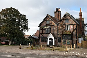Capel, Surrey - The Crown Inn