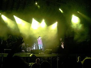 The Cult - The Cult playing at Drave Rock Fest in 2007.