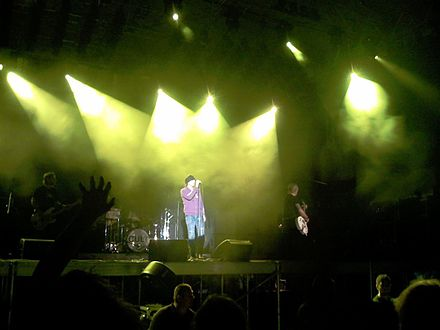 The Cult playing at Drave Rock Fest in 2007. The Cult Drave Rock Fest 2007.jpg