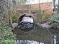 The Cut at Osbornelane Bridge, Newell Green - geograph.org.uk - 1212987.jpg