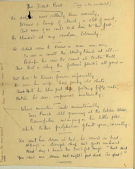 """the development of ideas in wild with all regrets a poem by wilfred owen Wilfred owen essay wilfred owen how does owen convey his ideas about war in the poem """"asleep"""" management and employee development."""