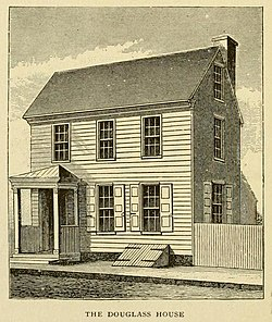 The Douglass House from Battles of Trenton 1898.jpg