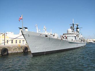 HMS Edinburgh (D97) - Edinburgh Cape Town, 2006.