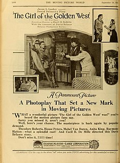 <i>The Girl of the Golden West</i> (1915 film) 1915 film
