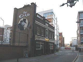 Lant Street street south of Marshalsea Road in Southwark, south London