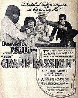 <i>The Grand Passion</i> 1918 film