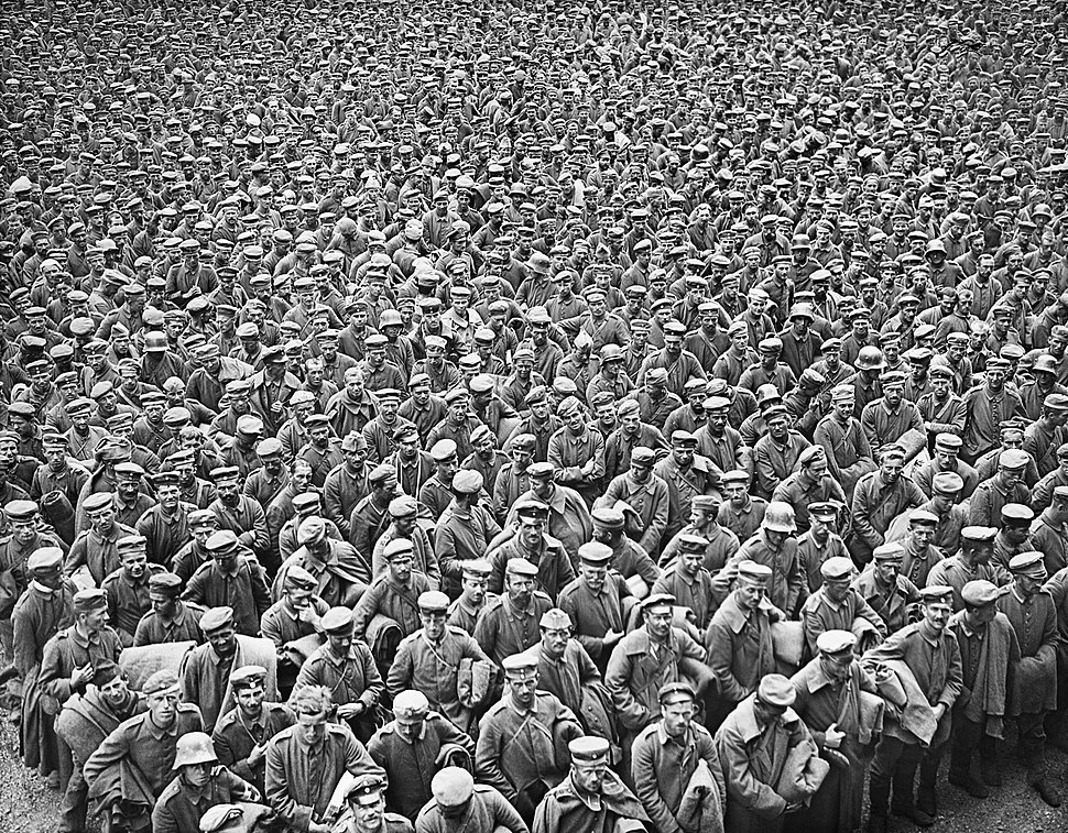 The Hundred Days Offensive, August-november 1918 Q9271