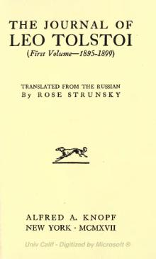 The Journal of Leo Tolstoy.djvu