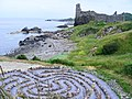 The Labyrinth at Kennedy Park Dunure - geograph.org.uk - 1381981.jpg