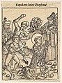 The Martyrdom of St. Stephen, from The Nuremburg Chronicle, folio 103 MET DP828508.jpg