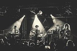 Группа на концерте в 2013 году