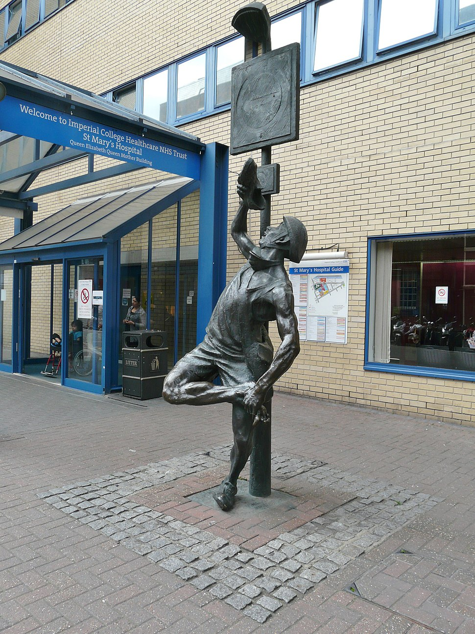 The Messenger, St Mary%27s Hospital