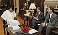 The Minister for Government Policy, UK, Mr. Oliver Letwin calls on the Union Finance Minister, Shri P. Chidambaram, in New Delhi on November 13, 2013.jpg