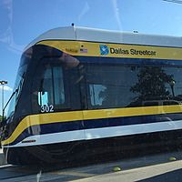 The NEW Dallas Streetcar! -DART (16696062863).jpg