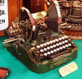The Oliver Typewriter No9 Bank model (1915), foto1.JPG