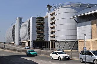 The Oracle, Reading - The Oracle car park and IDR