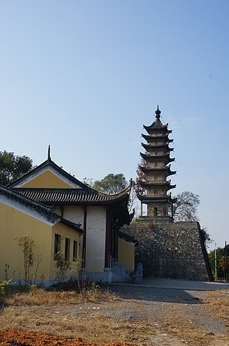 Wu Chinese-speaking people - Wu architecture styled pagoda.