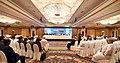 The Prime Minister, Shri Narendra Modi at the Oman-India Business Meet, in Muscat, Oman on February 12, 2018 (2).jpg