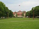 Центральный четырехугольник Колледж Королевы.