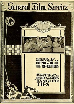 Vim Comedy Company - The Reformers (1916)
