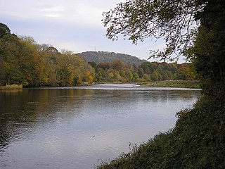 River Tweed River in the Scottish Borders and northern England