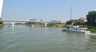 Ying River - The Shaying river at Fuyang, Anhui province.