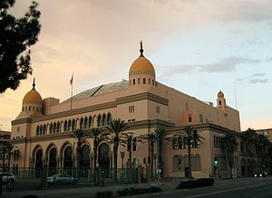 Shrine Auditorium - Image: The Shrine Auditorium Al Malaikah Temple