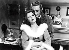 Hedy Lamarr en George Sanders in The Strange Woman