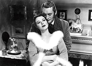 The Strange Woman - Hedy Lamarr and George Sanders in The Strange Woman