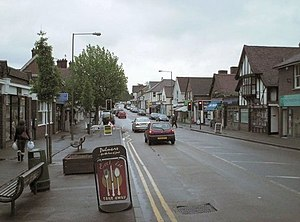 Ashtead - The Street, the main thoroughfare
