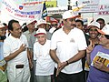 The Union Minister for Health & Family Welfare Dr.Anbumani Ramadoss participating in the AIDS Awareness Marathon at Pune on December 4, 2005.jpg