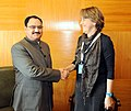 The Union Minister for Health & Family Welfare and the President of the 68th World Health Assembly (WHA).jpg