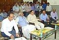 The Union Minister for Health and Family Welfare, Shri J.P. Nadda chairing a meeting to review the situation of Kala Azar, Acute Encephalitis Syndrome (AES) and Japanese Encephalitis (JE) in Bihar, at Patna on June 18, 2015.jpg