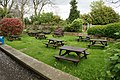 The beer garden at The New Inn (geograph 3968443).jpg