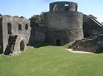 The circular keep of Dinefwr Castle - geograph.org.uk - 539300.jpg