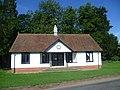 The cricket pavilion at Rickling Green (geograph 4627598).jpg