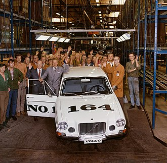 Volvo 164 - Image: The first Volvo 164 1968 001