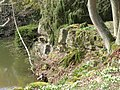 The lower lake at Sandringham - rock cliff-4574818942.jpg