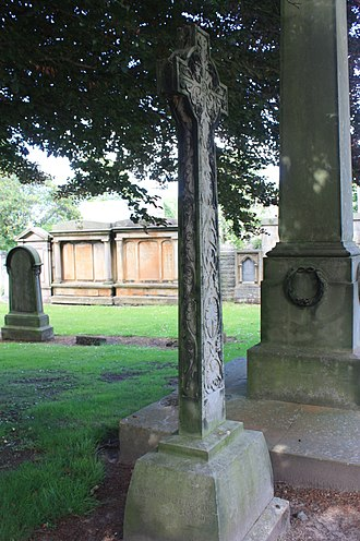Mackintosh MacKay - The memorial to Mackintosh MacKay, Grange Cemetery, Edinburgh