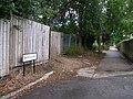 The newly designated Dove Lane - geograph.org.uk - 482752.jpg