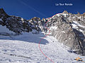 The normal route on the Tour Ronde.jpg
