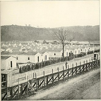 Elmira Prison - Union prisoner of war camp for detaining civilians and military personnel of the Confederate States of America