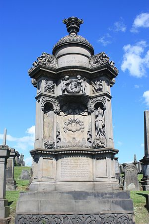Alexander Handyside Ritchie - The tomb of John Henry Alexander by Handyside Ritchie, Glasgow Necropolis